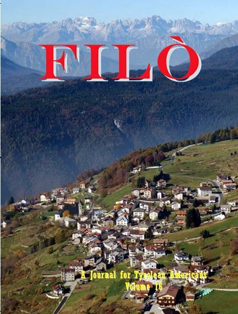 Filo Magazine Volume 16 Luserna